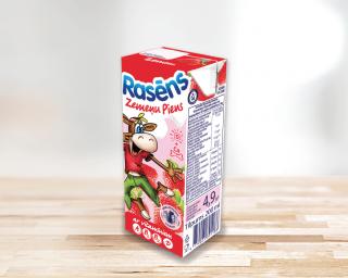 """Zemeņu piens """"Rasēns"""""""