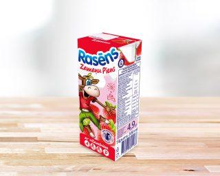 Rasēns zemeņu piens